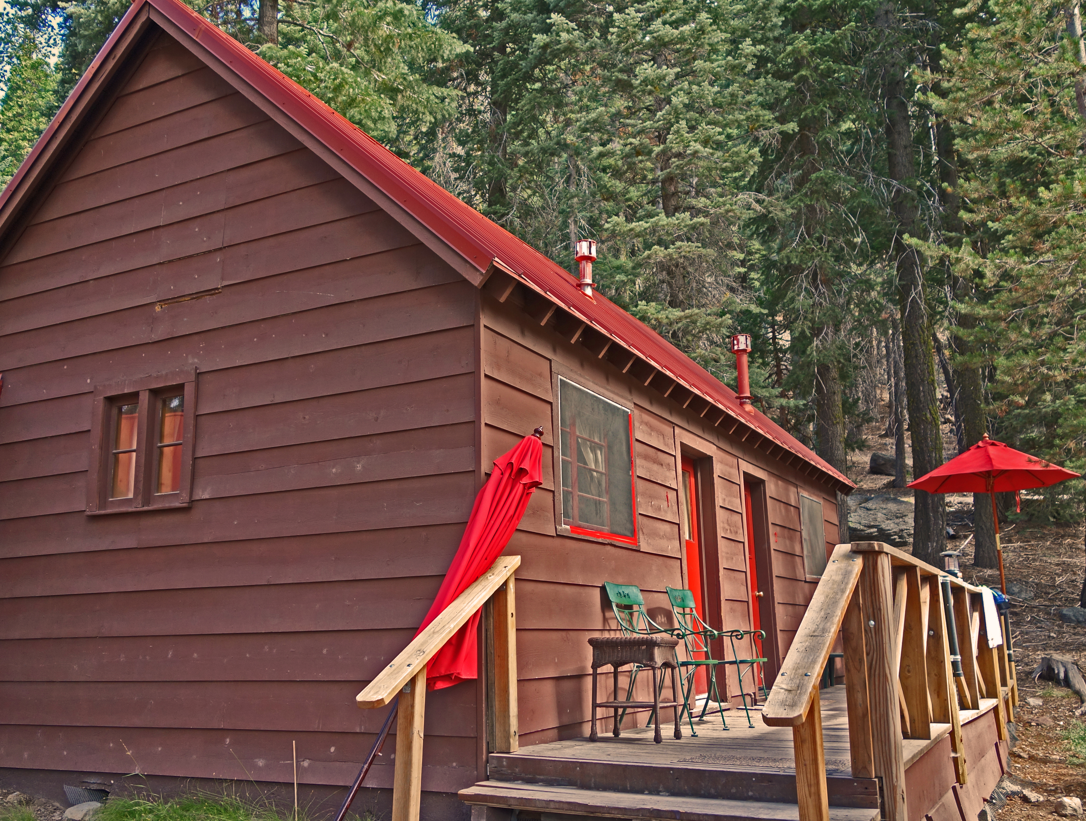 cabins national yosemite redwoods park the california sequoia just america