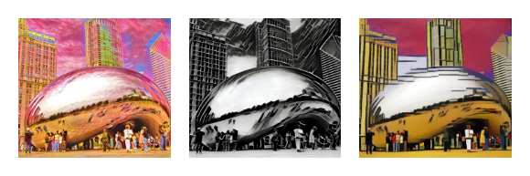 Cloud Gate Collage